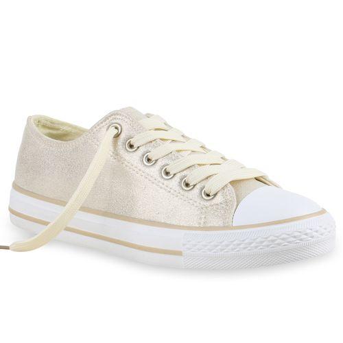 Damen Sneaker low - Creme