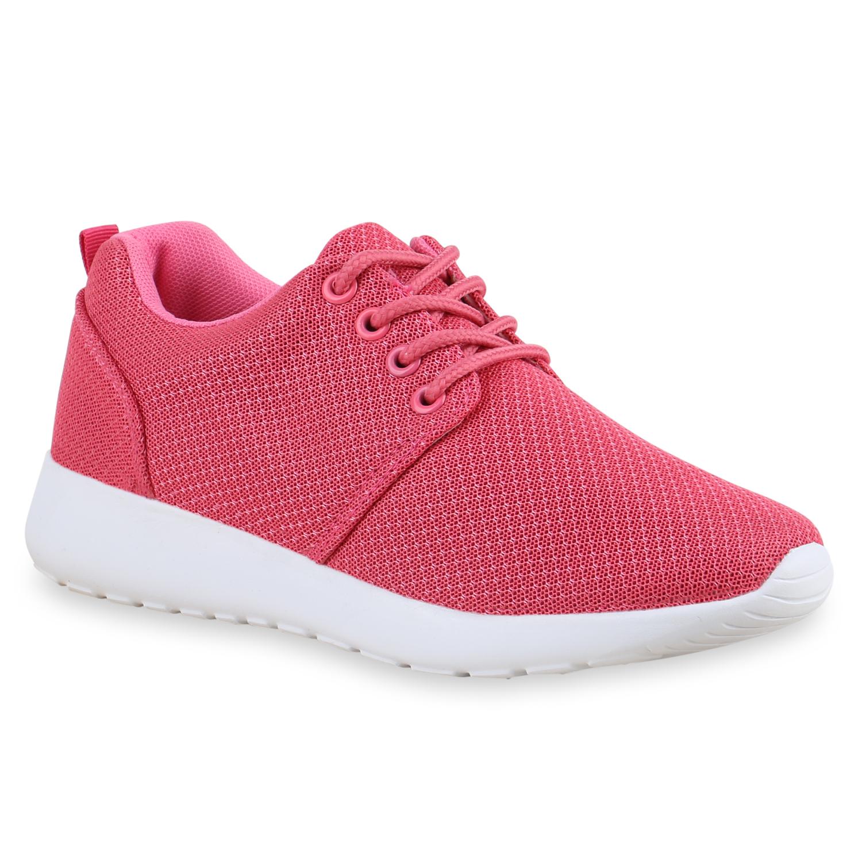 Sportschuhe - Damen Sportschuhe Laufschuhe Pink › stiefelparadies.de  - Onlineshop Stiefelparadies