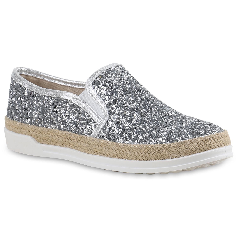 damen slippers in silber 816123 526. Black Bedroom Furniture Sets. Home Design Ideas