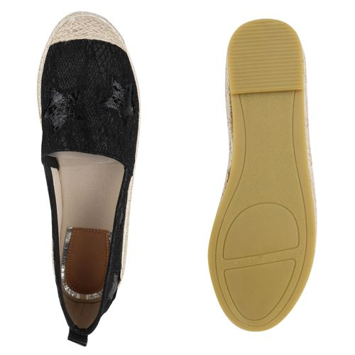 Billig Damen Schuhe Damen Slippers in Schwarz 8162003401