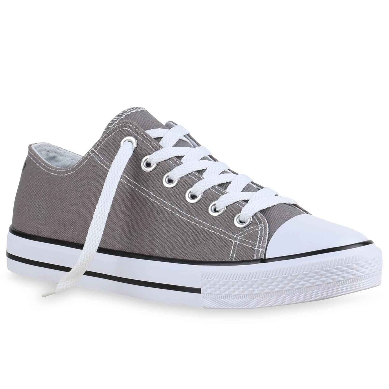 Sneakers für Frauen - Herren Sneaker low Grau › stiefelpardies.de  - Onlineshop Stiefelparadies