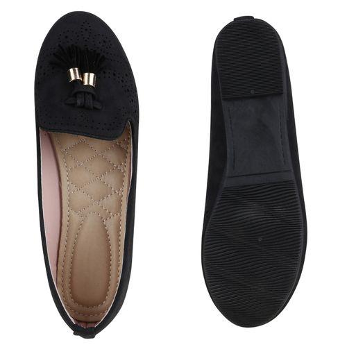 damen slippers in schwarz 816402 3401. Black Bedroom Furniture Sets. Home Design Ideas