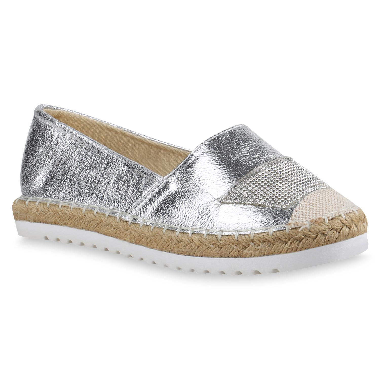 damen slippers in silber 816459 526. Black Bedroom Furniture Sets. Home Design Ideas