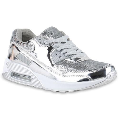 Damen Sportschuhe Laufschuhe - Silber