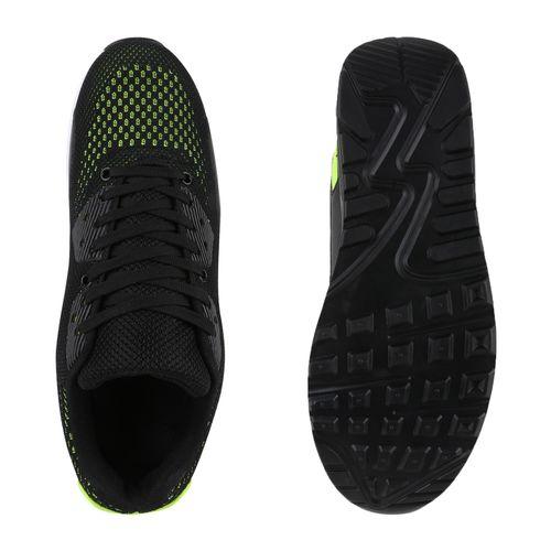 Herren Sportschuhe Laufschuhe - Schwarz Neongrün