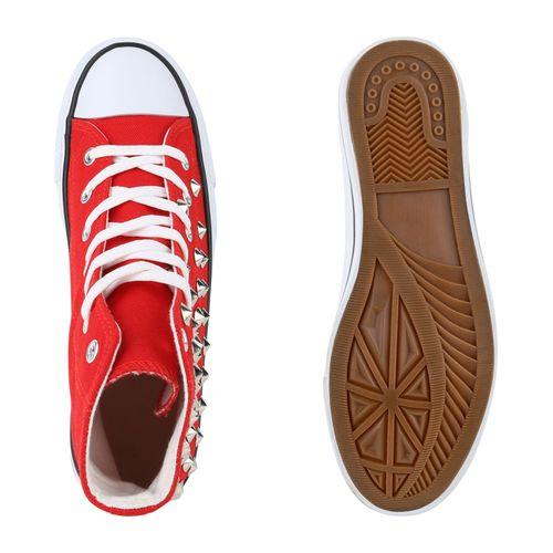 Rot High Damen Sneaker Sneaker Sneaker Damen Damen Sneaker Rot High Rot High Damen AqgF8w