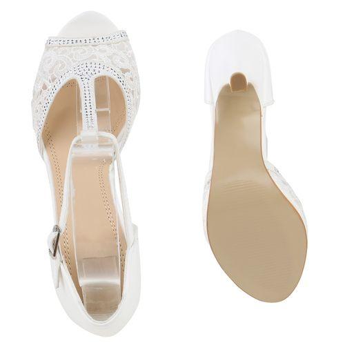 df0e0b9adb6b Damen Sandaletten in Weiß (816678-686) - stiefelparadies.de