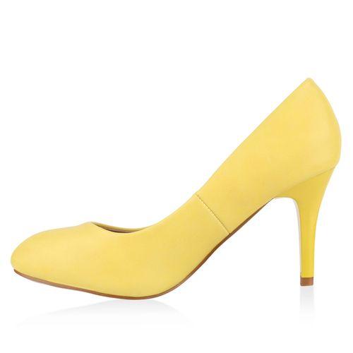 Damen Klassische Pumps - Gelb