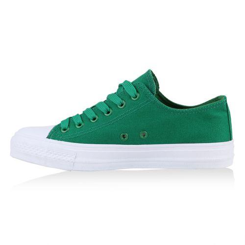 Sneaker Damen Grün Low Damen Sneaker SUwTY