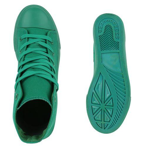 Herren Sneaker high - Grün