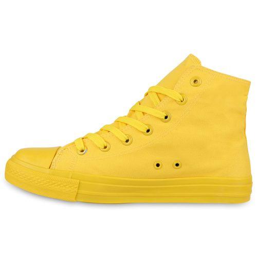 Herren Sneaker high - Gelb