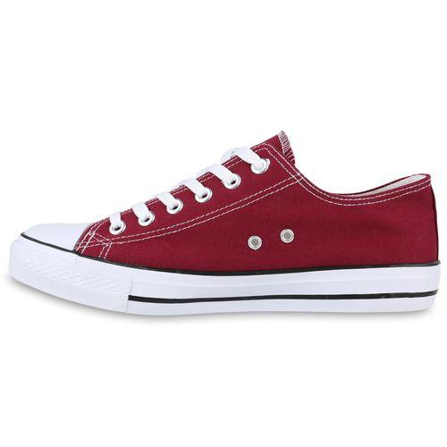 Low Herren Sneaker Low Sneaker Herren Dunkelrot Dunkelrot Sneaker Herren rqHrf0w