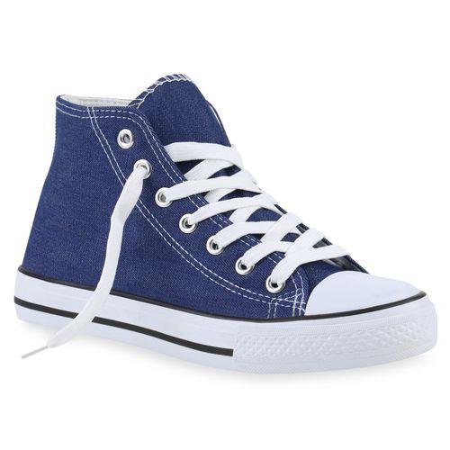 Damen Sneaker high - Blau