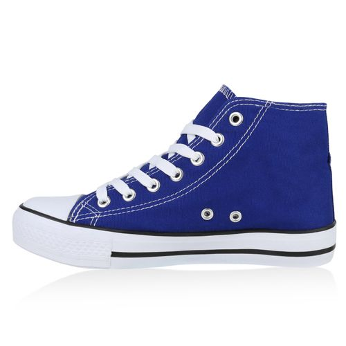 Damen Sneaker high - Blau
