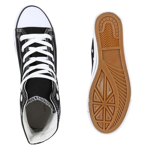Schwarz Herren Sneaker Herren Sneaker High caITqwx8aU