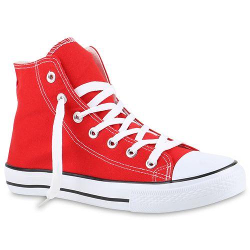 Herren Herren High Sneaker High Rot Rot Herren Sneaker 5YqIfqF