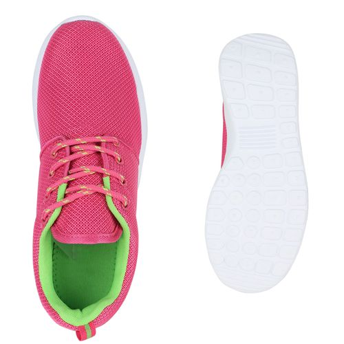 Neongrün Sportschuhe Laufschuhe Pink Damen Laufschuhe Pink Sportschuhe Damen gS7SqPB