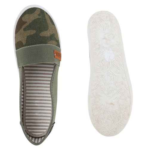 Damen Slippers Slippers Camouflage Ons Damen Slip Zqv8UPZ