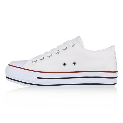 Damen Plateau Damen Weiß Weiß Damen Plateau Plateau Weiß Sneaker Sneaker Sneaker 88qrwYR