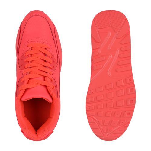 Damen Sportschuhe Laufschuhe - Neon Rot