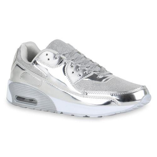 Herren Sportschuhe Laufschuhe - Silber
