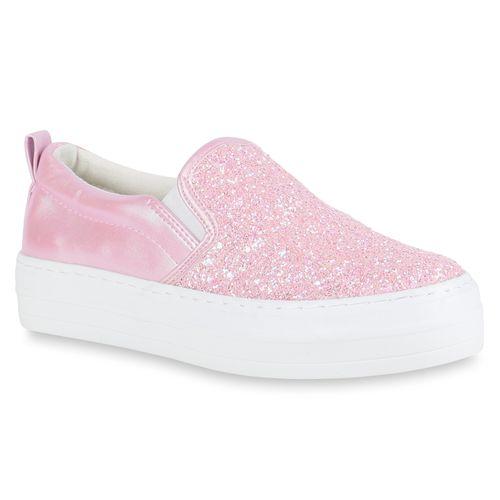 Ons Sneaker Rosa Ons Damen Slip Damen Sneaker Slip iOPZkXuTw