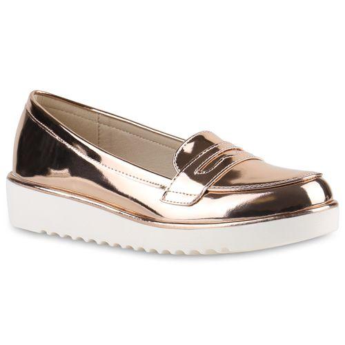 Damen Klassische Slippers - Rose Gold