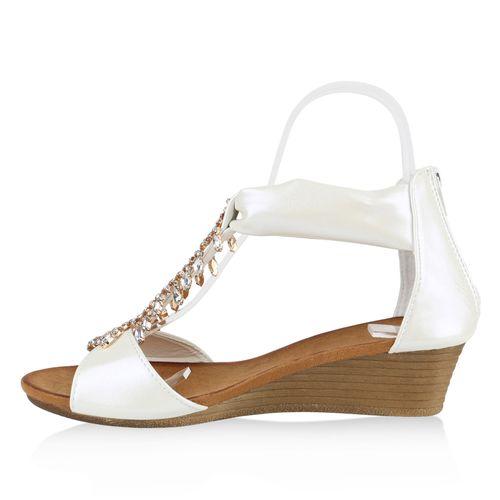 Damen Keilsandaletten Damen Keilsandaletten Sandaletten Keilsandaletten Sandaletten Sandaletten Weiß Damen Weiß OITUwBExqn