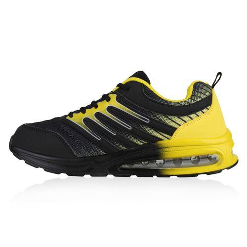 Damen Sportschuhe Laufschuhe - Schwarz Gelb