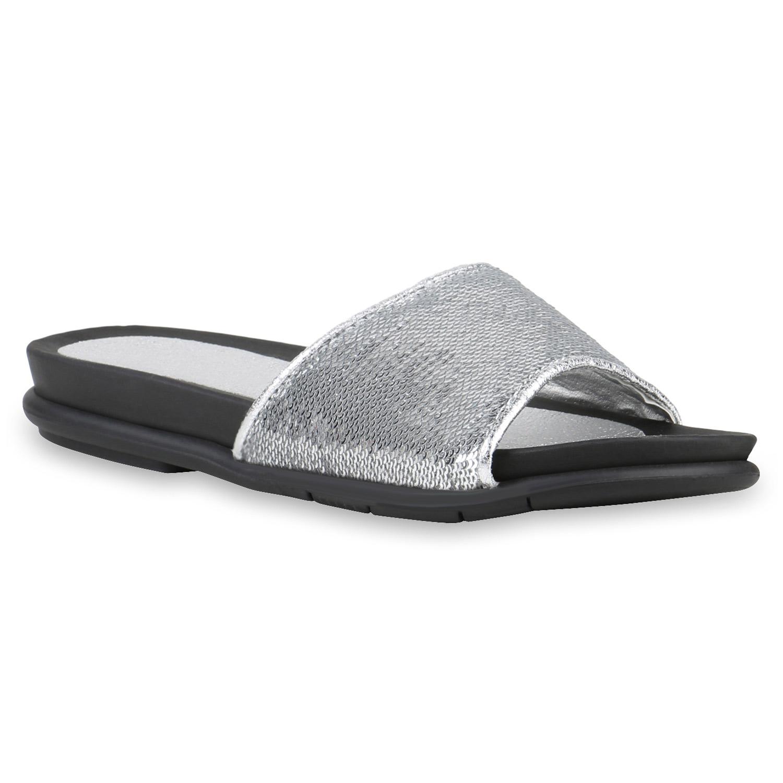 damen sandalen in silber 817368 526. Black Bedroom Furniture Sets. Home Design Ideas