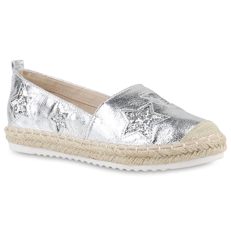 damen slippers in silber 817377 526. Black Bedroom Furniture Sets. Home Design Ideas