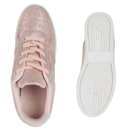 Plateau Plateau Rosa Damen Sneaker Plateau Sneaker Sneaker Damen Rosa Rosa Damen d5xRqv