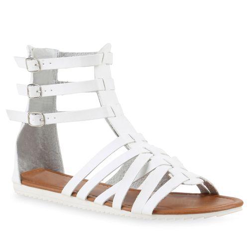 Damen Sandalen in Weiß (817687-686) - stiefelparadies.de cc35be5b6e