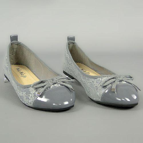 Damen Klassische Ballerinas - Grau