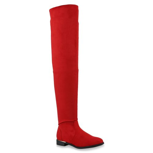 Damen Stiefel Overknees Stiefel Damen Stiefel Rot Overknees Rot Damen Overknees Rot drrgCwPRq