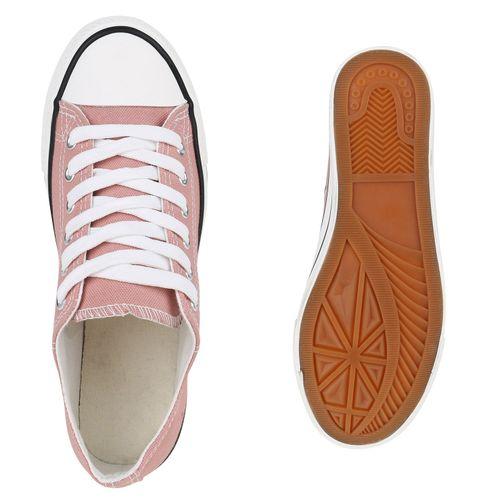 Damen Sneaker low - Rosa Nude