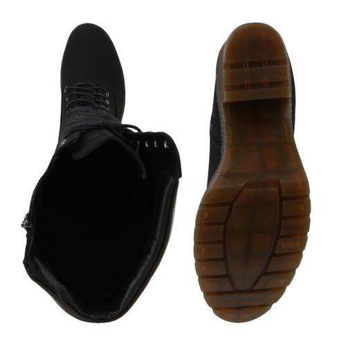 Damen Worker Worker Schwarz Worker Damen Stiefel Boots Stiefel Schwarz Boots Boots Schwarz Damen Stiefel p1Awq41