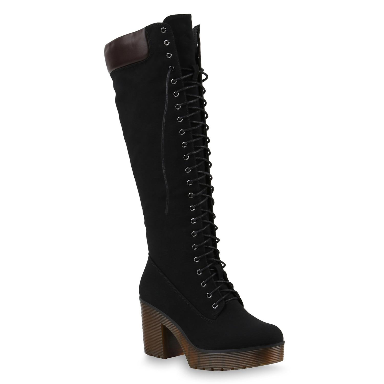 Damen Stiefel in Schwarz (818095-3401) - stiefelparadies.de 8d8aab30ff