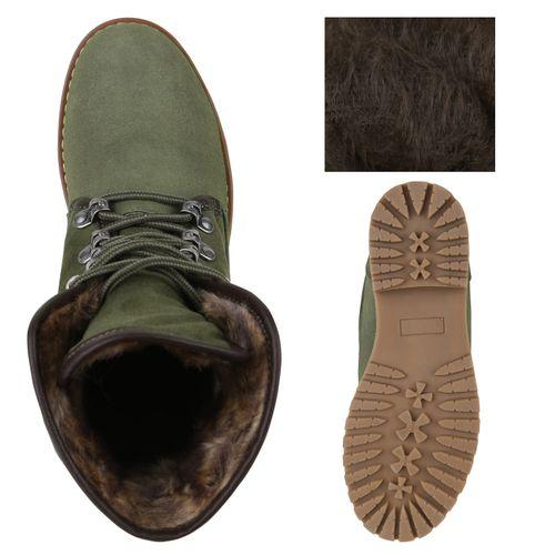 Damen Stiefeletten Outdoor Schuhe - Dunkelgrün