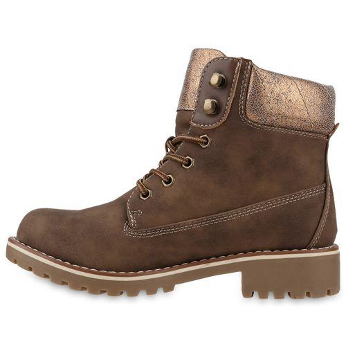 Boots Worker Damen Stiefeletten Damen Stiefeletten Khaki xwqg0nZIT
