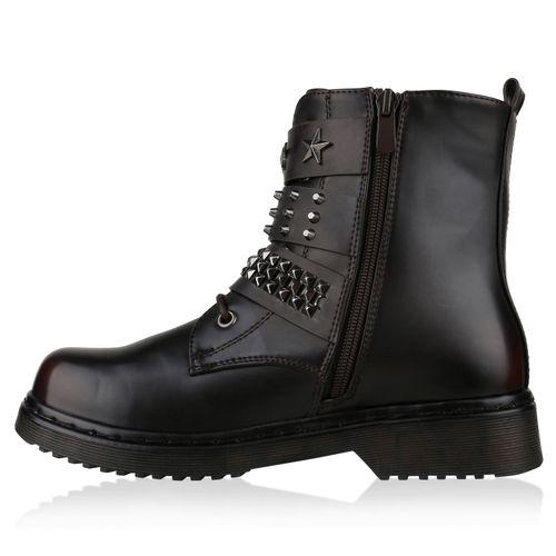 Boots Worker Stiefeletten Boots Damen Stiefeletten Worker Dunkelrot Stiefeletten Damen Worker Worker Stiefeletten Damen Boots Dunkelrot Dunkelrot Boots Damen BvwP0