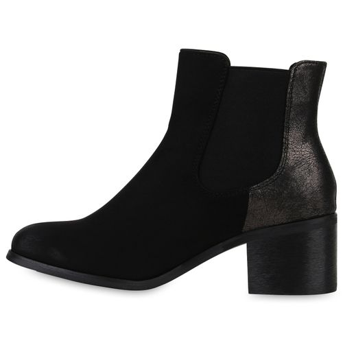 Stiefeletten Damen Damen Boots Damen Schwarz Chelsea Schwarz Schwarz Chelsea Stiefeletten Boots Damen Boots Stiefeletten Chelsea AqFFRI