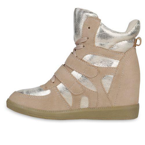 Damen Creme Sneaker Wedges Sneaker Damen Wedges Wedges Damen Sneaker Creme SgqwgExr