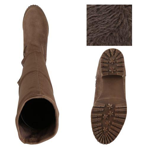 Stiefel Damen Overknees Damen Damen Khaki Stiefel Khaki Overknees Stiefel FqAqO7