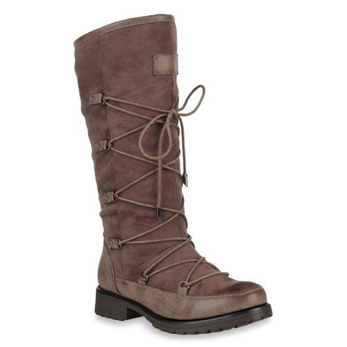 Klassische Klassische Damen Stiefel Damen Khaki Stiefel qFqRznx