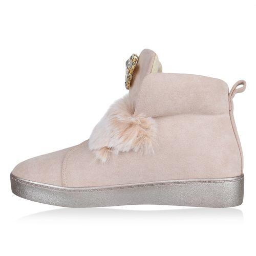 High Sneaker Damen Sneaker Damen Creme Creme Creme Damen Damen Sneaker Sneaker High High 0A0ZnTxq