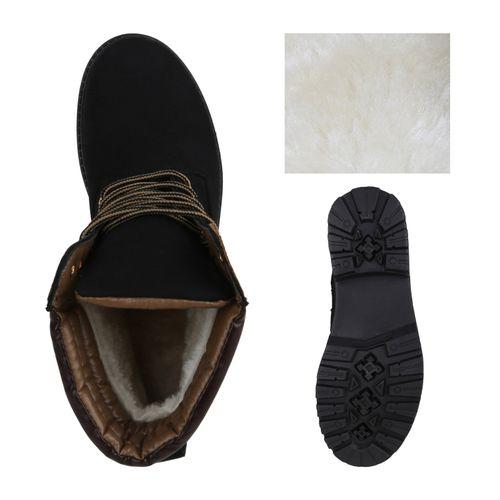 Herren Worker Boots - Schwarz