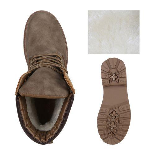 Herren Worker Boots - Khaki