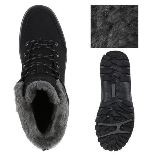 Herren Halbschuhe Outdoor Schuhe - Schwarz