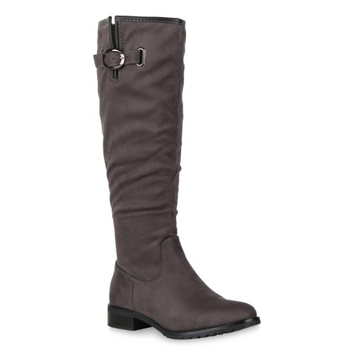 Damen Stiefel Klassische Damen Grau Klassische Hvqw6xfz